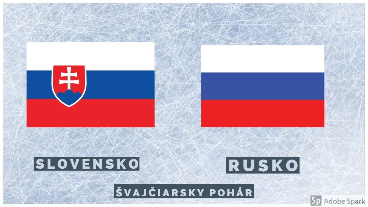 96b8ce555f0df Slovensko VS Rusko Švajčiarsky Pohár 2018 - YouTube