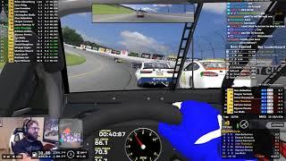 iRacing NASCAR Class A Fixed at Michigan 8/8/2018