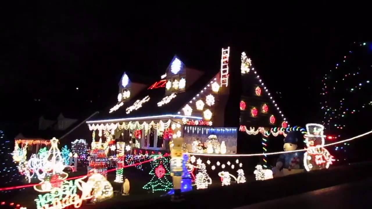 Christmas Lights In Pa.Christmas Lights 2015 Pleasant Hills Pa