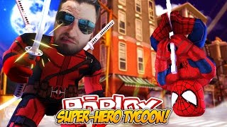 ROBLOX ADVENTURE - ROPO IS DEADPOOL?? (SUPER HERO TYCOON)
