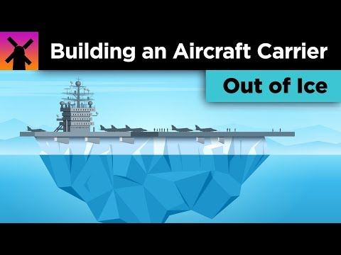 The Insane Plan to Build an Aircraft Carrier Out of Ice
