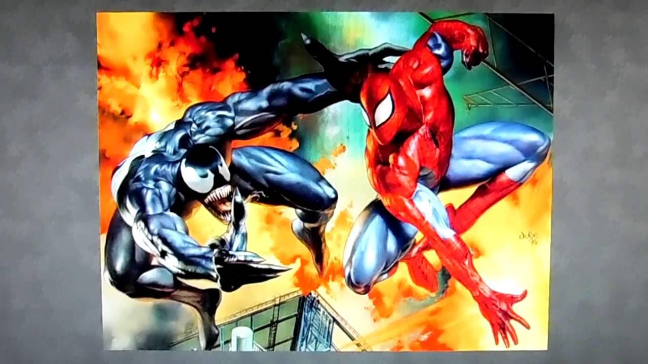Играет венома человеке пауке