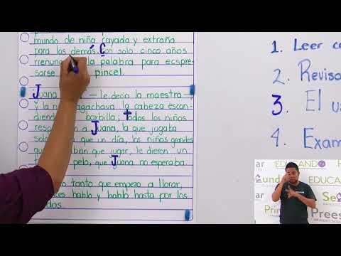 Primaria 3º y 4º clase: 176 Tema: La corrección de textos