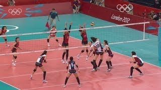 Women's Volleyball - Japan v Korea - Bronze Medal Match | London 2012 Olympics