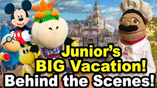 Bowser Junior's Big Vacation - Behind The Scenes!