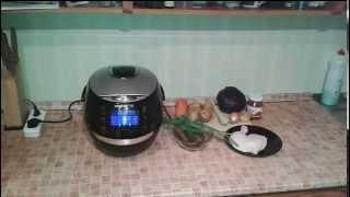 Рецепты для мультиварки - густой овощной суп с курицей в мультиварке