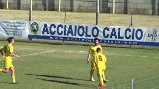 Coppa Toscana Terza Categoria: sintesi Acciaiolo - Crespina