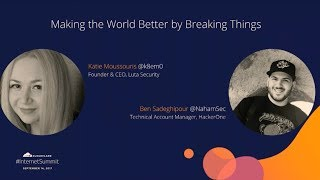 Making the World Better by Breaking Things thumbnail