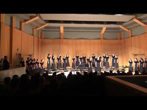 Ruben S Ayala High School Women's Ensemble, Mt. SAC Performance, 4/24/19