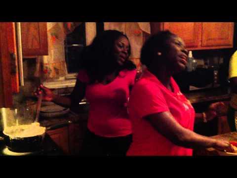 Diana Antwi Hamilton @ HOME with Family The Antwi's giving praise to GOD ENSI WOYIE part 1