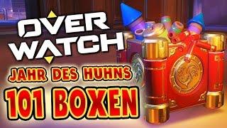 101 Event-Lootboxen! Das Jahr des Hahns! | OVERWATCH