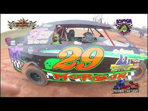 #29 Jo Jo Morgan - KMSA Pony - ICE BOWL 2018 - Talledega Short Track - In Car Camera