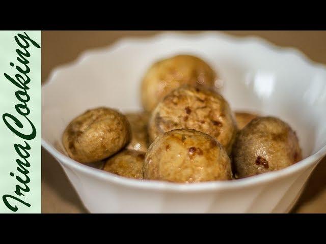 Простая Закуска на Праздник из Шампиньонов 🎄 Запеченные ШАМПИНЬОНЫ в Духовке ✧ Ирина Кукинг