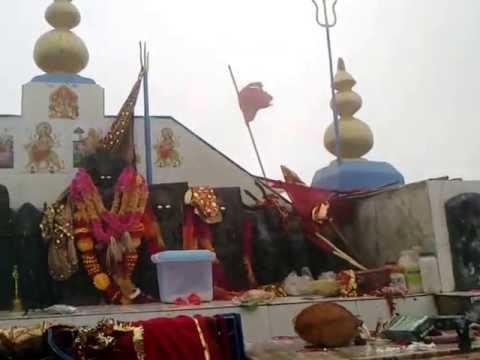 inside shikari mata temple.JAI MATA DI...