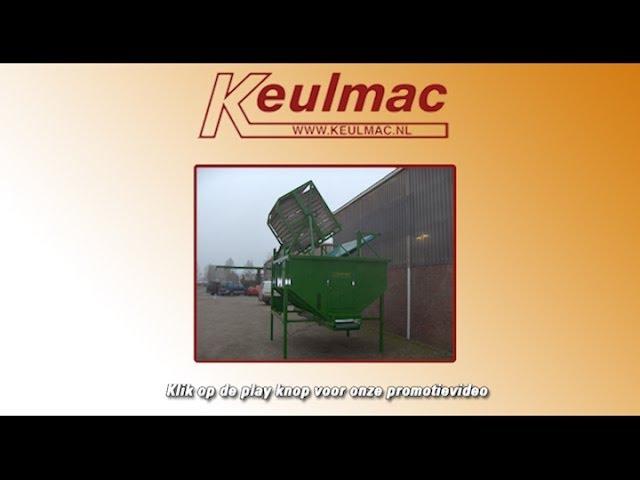 Keulmac Landbouwmachines - Voorraadbunker