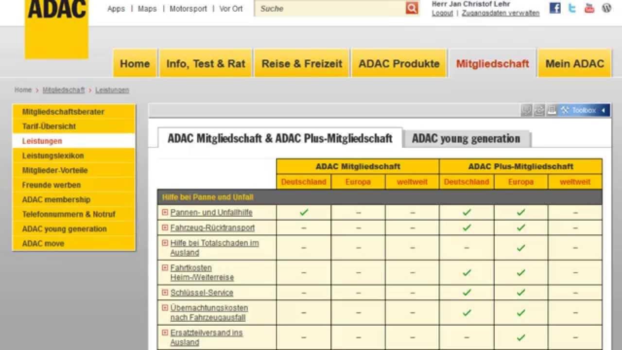 Adac Mitgliedschaft Online Sofort Gültig