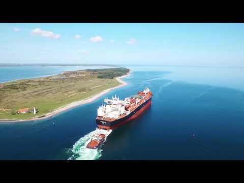 Peary Spirit Departing Fayard Drydocks | Teekay