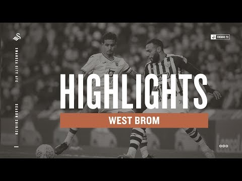 West Brom V Swansea City | Highlights