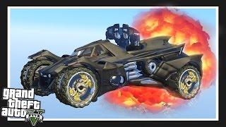 THE INCREDIBLE BATMOBILE! GTA 5 Mods Showcase!