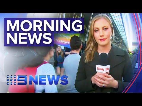 Climate Protests Rattle Melbourne, Sydney Factory Fire & One Nation's Finances | Nine News Australia