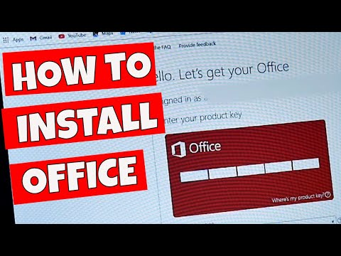 How To Install Microsoft Office 2019 From Activation Key Or License Code