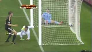 Mecz o Trzecie miejsce Mistrzostw Świata w RPA Urugwaj - Niemcy 2:3
