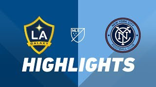 LA Galaxy vs. New York City FC | HIGHLIGHTS - May 11, 2019