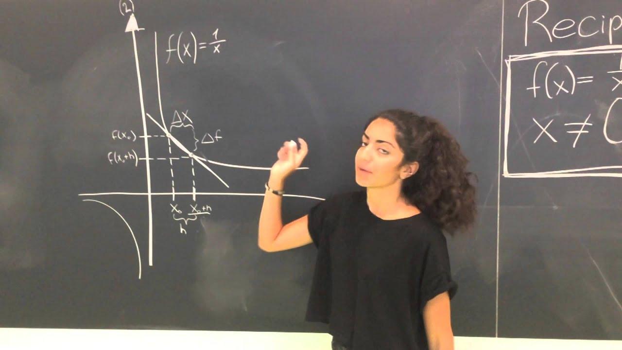 Matematik - Reciprokfunktionen