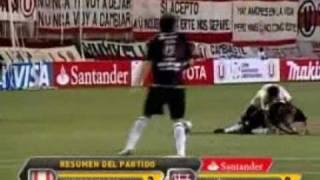 Universitario 2   Lanús 0 (Copa Libertadores 2010)