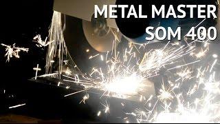 Абразивно отрезной станок по металлу Metal Master SOM 400(Станок отрезной маятниковый (СОМ) прекрасно справится с резкой труб, профилей, арматуры в промышленных..., 2016-04-25T12:42:14.000Z)