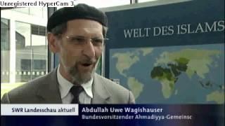 SWR News Jalsa Salana Germany 2012 der Islam Ahmadiyya Muslim Jamaat in Karlsruhe