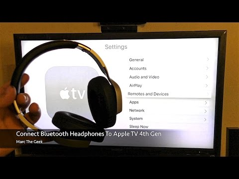 Can i connect bluetooth headphones to apple tv 3
