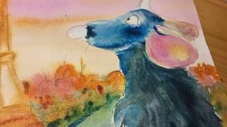 Уроки рисования для детей и взрослых. Мультик. Рататуй. Крысёнок Реми. Интересная история