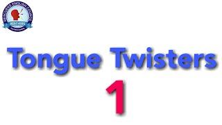 Tongue twisters 1 || Rescuers Tutors