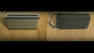 BOSE soundlink 3 vs B&O Beoplay A2