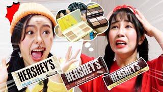 초콜릿을 얼굴에 발라?!  CHOCOLATE EATIN…