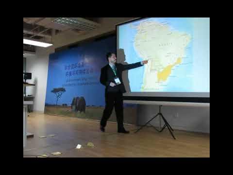 Diego Evangelista-Vargas. ISCES 2017 (Shanghai, China)