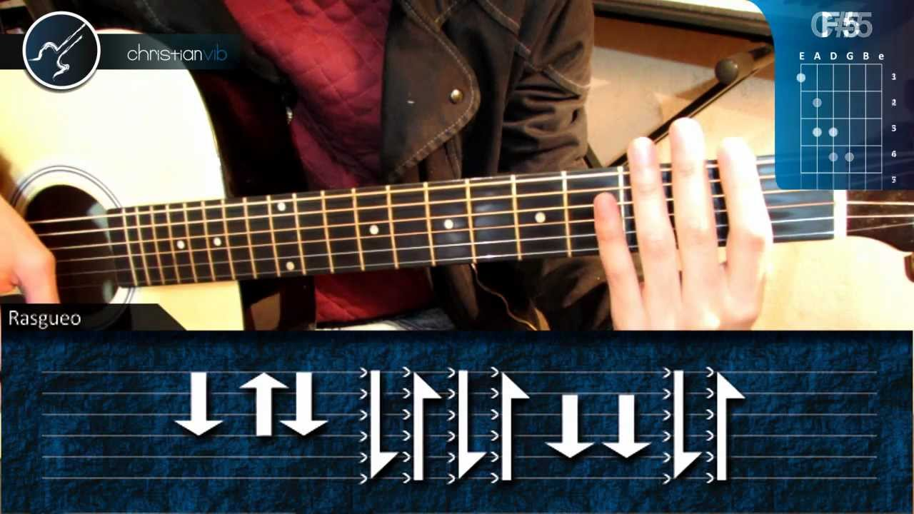 Cómo Tocar Smells Like Teen Spirit De Nirvana En Guitarra Acústica Hd Christianvib Youtube