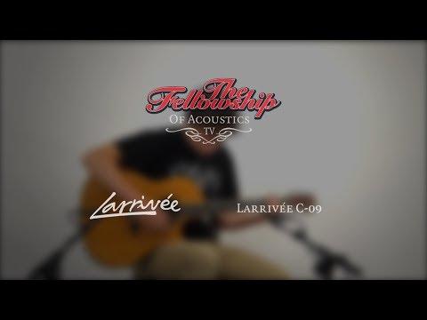 Larrivée C-09 at The Fellowship of Acoustics