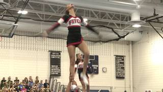 Fitch High School at 2019 ECC Cheerleading Championship