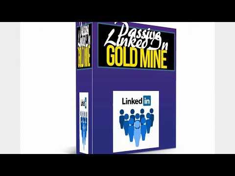 """Passive LinkedIn Gold Mine"" + $101 Prize Contest"