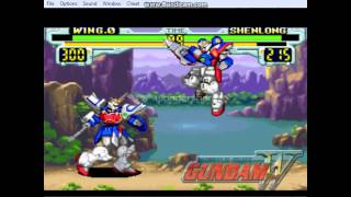 EmuSNES-Gundam Wing(gameplay)1/2