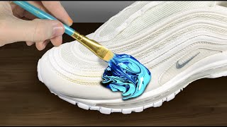 CUSTOM Air Max 97!! 🎨(Giveaway) - Jordan Vincent