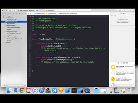 ViewBackgroundColor changing Programatically in swift 4 thumbnail