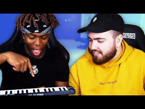Teaching KSI How to Make a Beat