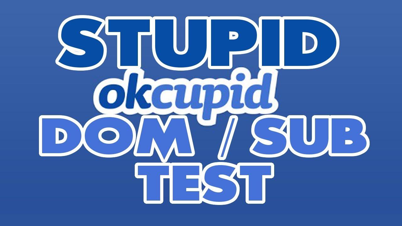 Master Hook on Stupid OKCupid Dom / Sub Test - YouTube