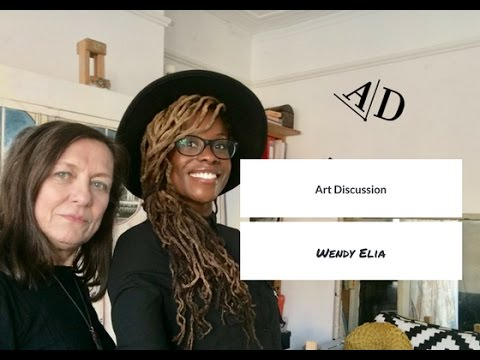 Adelaide Damoah in Conversation with Wendy Elia: Art Discussion