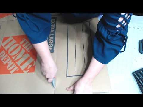 Cut a box down to size