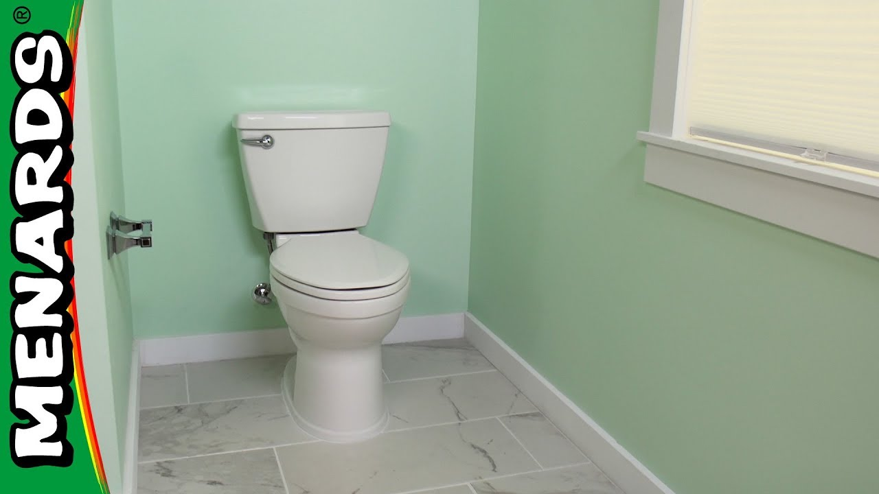 How to Install a Toilet - Menards - YouTube
