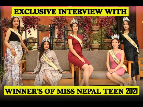 WINNERS OF MISS NEPAL TEEN 2021 ||  EXCLUSIVE INTERVIEW || THE CELEBRITY TIMES